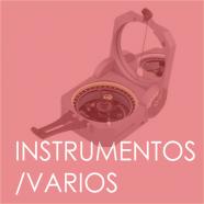 Instrumentos/Varios